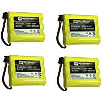Interstate Batteries TEL0030 Cordless Phone Battery Combo-Pack Includes: 4 x SDCP-C307 Batteries