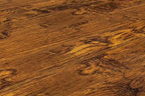 Vesdura Vinyl Planks - 4mm PVC Click Lock - Hickory Collection - Amber Hickory - SAMPLE
