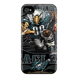Top Quality Rugged Philadelphia Eagles Case Cover For Iphone 4/4s