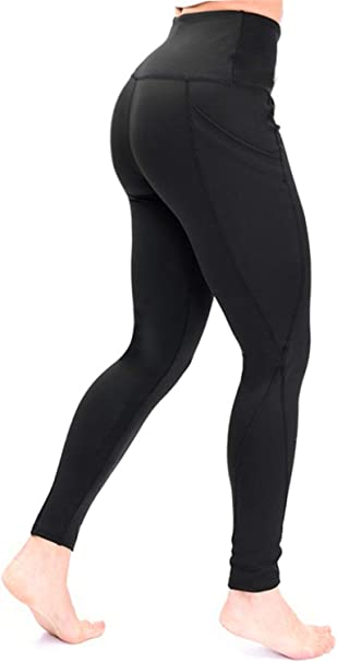 Amazon.com: Pantalones de yoga con bolsillo para mujer de ...