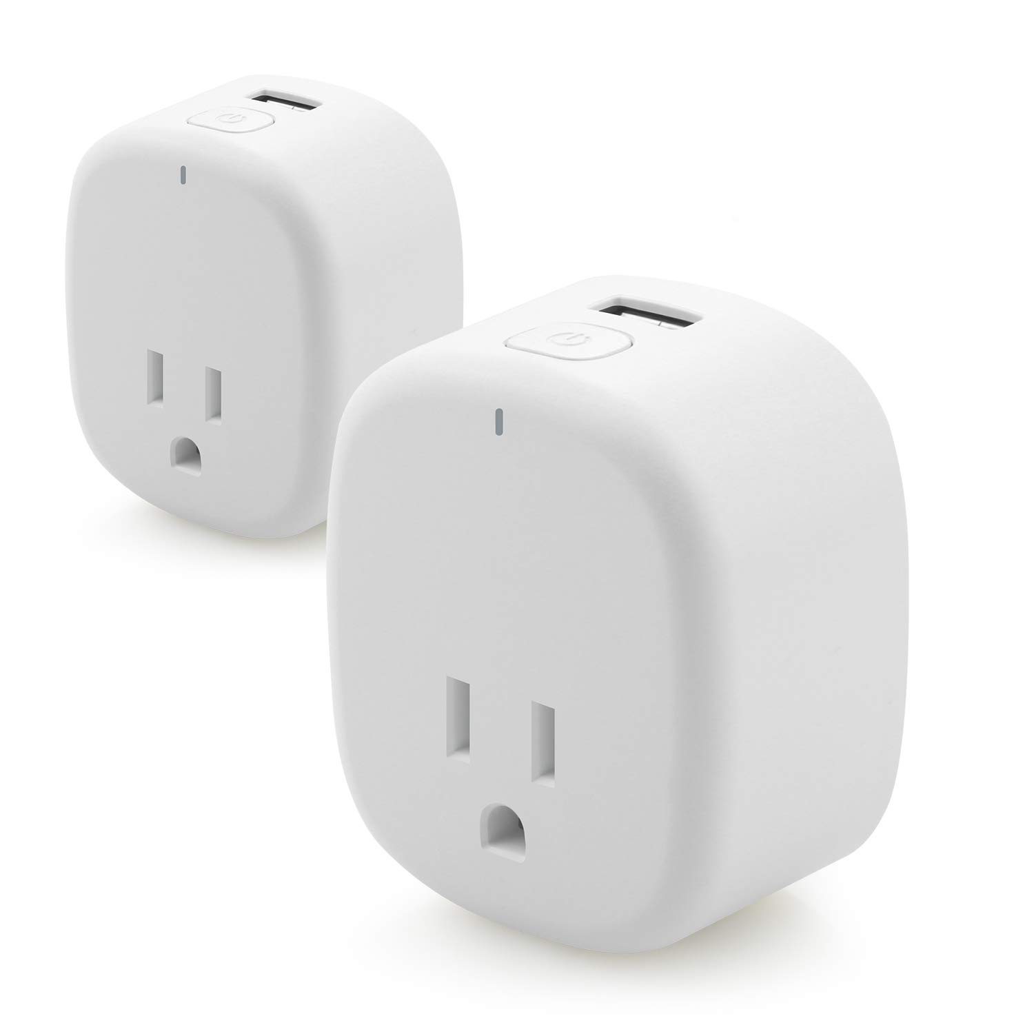 WiFi Smart Plug Mini Outlet, FayTun Mini Socket Outlet Energy Monitoring, Work with Amazon Alexa Echo,Google Assistant,ifttt, No Hub Required, Remote Control by APP with Timing Function[2 Pack]