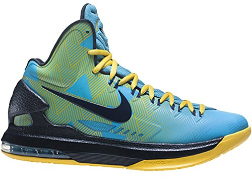 Yellow Turquoise Blue Basketball VI N7 Nike M 13 Men's US Shoes KD 6vqSqzPn