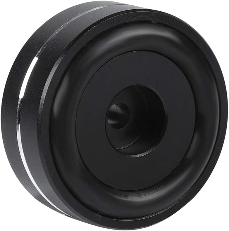 Aluminum Alloy Cone Pad Isolation Base Feet Pads Absorb Shock for Audio Speaker Amplifier 4CPS 4015mm Black ASHATA Speaker Isolation Feet Pad Stand
