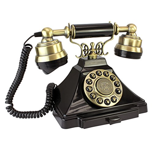 Antique Phone - Royal Victoria 1938 Rotary Telephone - Corded Retro Phone - Vintage Decorative Telephones by Design Toscano