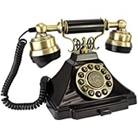 Design Toscano Antique Phone - Royal Victoria 1938 Rotary Telephone - Corded Retro Phone - Vintage Decorative Telephones