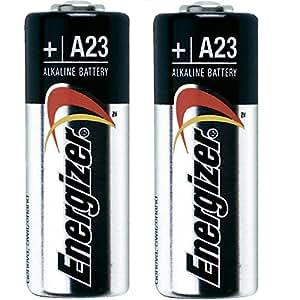 Energizer E23A-C2 - Pack de 2 pilas alcalinas A23 (12 V, equivalente con MN21, LRV08 y GP23A)
