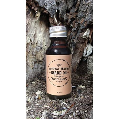 Barbe huile par Nature Moustache (Natural Beards)–Un Barbe phtalate et profondes Après-shampoing pour les hommes (40ml)