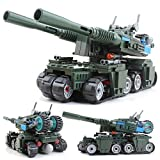 Kazi Building Blocks Red Alert 3 Apocalypse Tank 170pcs Compatible with Sluban