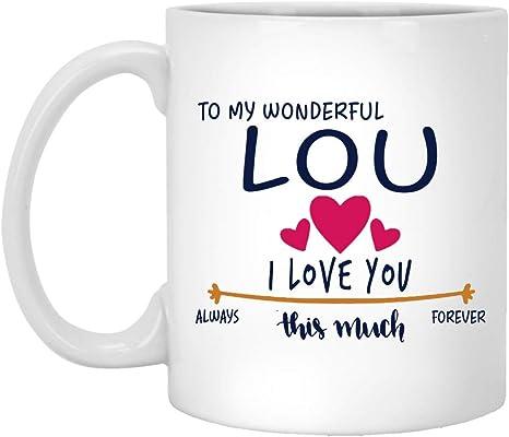 Lou name Mug