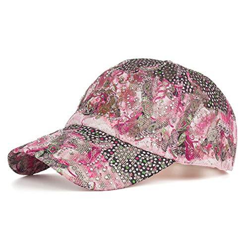 béisbol Visera la perforación Caliente Sombrero el Las a de Sombrero de Forme del señoras de hat Sombrero A GLLH Sombrero del Sombrero qin Flor Casquillo D Sombreros Sol del del H0xnzwYOq