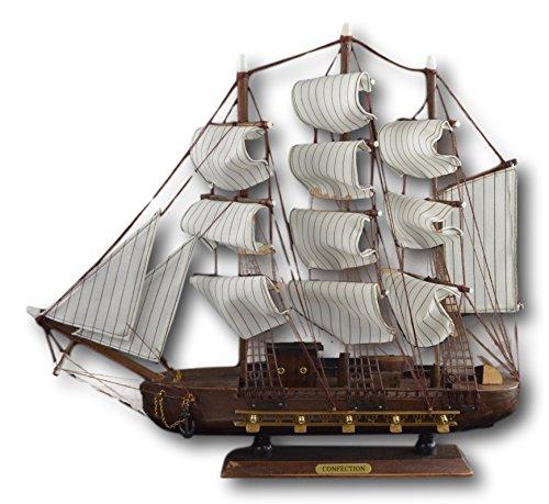 (Festcool Wooden Model Fishing Boat 19