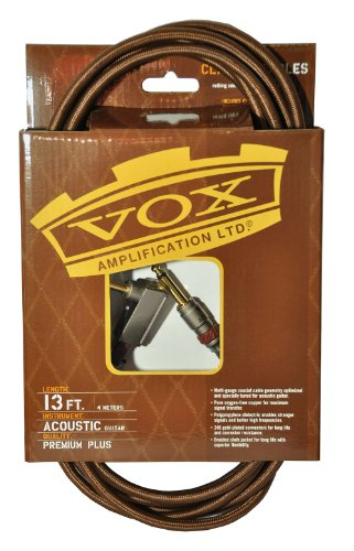 Professional Acoustic Instrument Cable (VOX VAC13