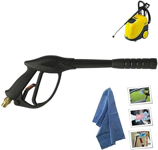 parpyon Lavor Pistola Ricambio per idropulitrice Professionale ad Acqua Fredda con Attacco filettato F22 M3//8 in Omaggio Panno Accessori ricambi idropulitrici Calda Lavorwash e Fasa