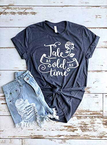 Tale As Old As Time Beauty and the Beast Disney Vacation Shirt