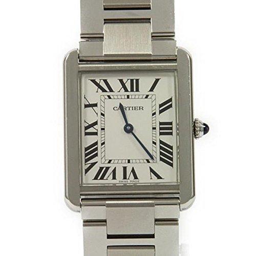 [カルティエ] Cartier W5200014 タンクソロ クォーツ(2600025650587) 中古 B07CWF8K8N