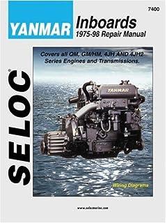 Yanmar diesel inboard engines 1980 2009 clymer motorcycle repair yanmar inboards 1975 98 seloc marine manuals fandeluxe Choice Image