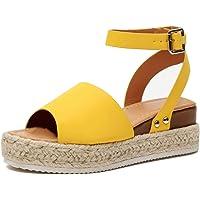Sandalias Mujer Plataformas Alpargatas Cuña Verano Hebilla Zapatos