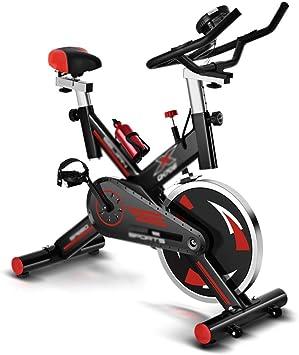 A~LICE&JS Bicicleta para Adelgazar, Equipo de Ejercicios para Uso doméstico, Bicicleta de Ejercicio, Silencio, Movimiento en el Interior, Perder Peso, Cuerpo, Esculpir, Girar la Bicicleta,Black: Amazon.es: Deportes y aire libre