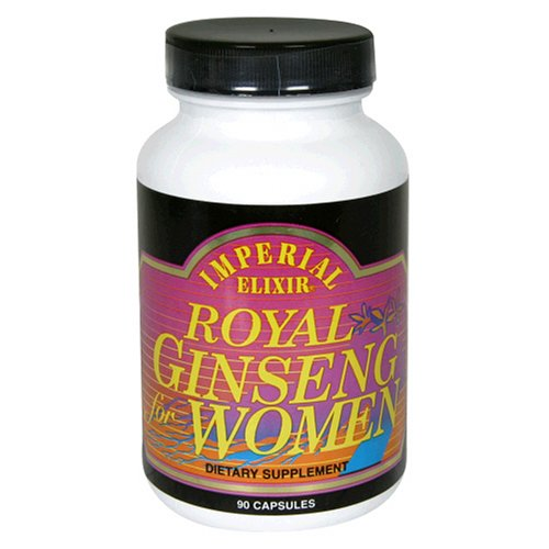 Imperial Elixir Royal Ginseng for Women -- 90 Capsules