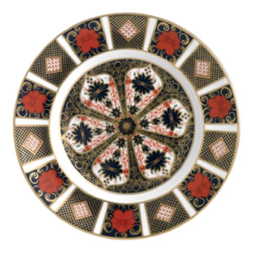 Royal Crown Derby Imari - Royal Crown Derby Old Imari Flat Plate 27cm