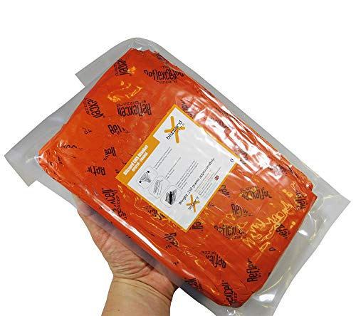 Blizzard EMS Blanket, 2-Layer, Orange, Flat-pack by Blizzard Protection Systems, Ltd.