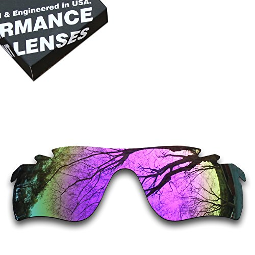 ToughAsNails Polarized Lens Replacement for Oakley RadarLock Path Vented Sunglass - More - Polarized Radarlock