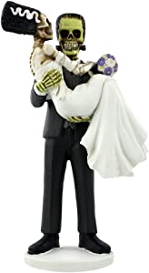 YTC Summit Frankenskull and Bride Figurine