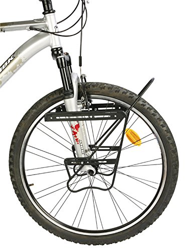 Zefal Touring Raider Front Bike Rack - Tie Lowrider Side