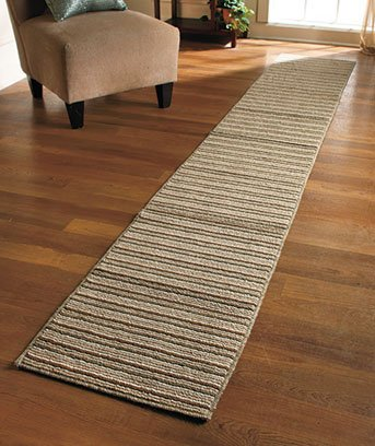 Extra-long Nonslip Striped Runners 60'' 90''' 120''