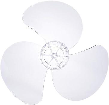YiZYiF Aspas de Ventilador Palas de Ventilador Pl/ástico 1PC Paletas de 3 Hojas Transparentes Accesorios para Ventilador de Pie 12 Pulgadas de 300 mm