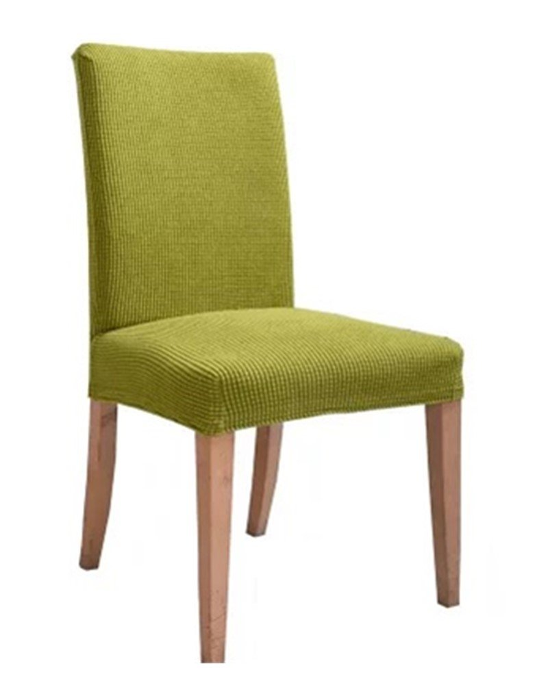 Zerci New Removable Stretch Slipcovers Short Dining Room Stool Seat Chair Cover