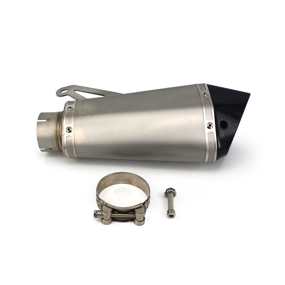 Fast Pro moto acciaio INOX Drag scarichi Drag 61/mm tubi di scarico per BMW S1000/2010/ /2014