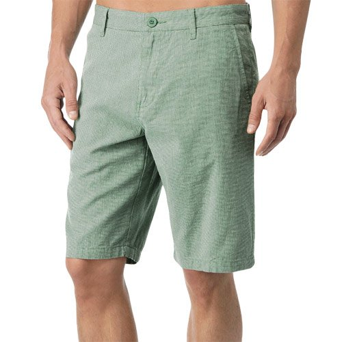 Slim Fit Walkshort - RVCA Dillard Slim Fit Walkshort - Bean Green (38)