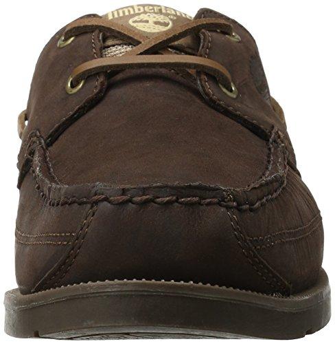 Timberland Mens Earthkeepers Kiawah Bay Boat Shoe,Dark Brown/Brown,13 M US Dark Brown/Brown