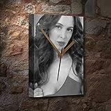 Seasons Eliza DUSHKU - Canvas Clock (A5 - Signed by The Artist) #js007