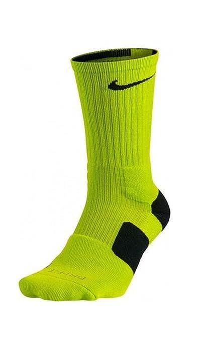 Calcetines de baloncesto Nike Elite para hombres., S, Cyber ...