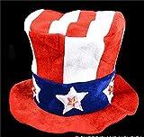 LIGHT-UP UNCLE SAM HAT, Case of 36