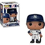Funko Aaron Judge [New York Yankees]: x POP! MLB Vinyl Figure + 1 Official MLB Trading Card Bundle [#004 / 30218]