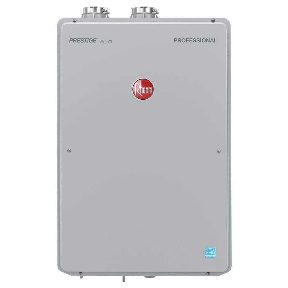 Rheem RTGH-84DVLN Indoor Direct Vent Natural Gas Condensing Tankless Water Heater Low Nox