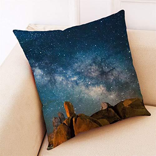 TIANMI Home Decor Cushion Cover Stellar Black Hole Pillowcase Throw Pillow Covers