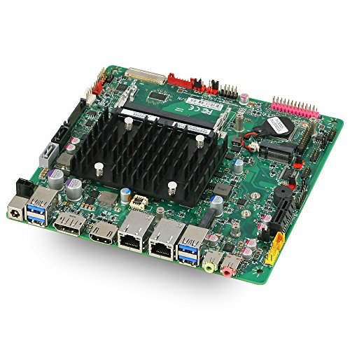 Mitac PD10AI MT Intel Apollo Lake Thin Mini-ITX Motherboard with Dual Intel LAN and DC-DC Power by Mitac