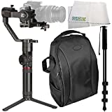 Zhiyun-Tech Crane-2 3-Axis Stabilizer with Follow Focus for Select Canon DSLRs 4PC Accessory Bundle – Includes Manufacturer Accessories + Deluxe Backpack + MORE