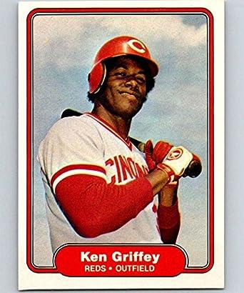 fa140eca4a Amazon.com: 1982 Fleer #67 Ken Griffey Sr. Reds: Collectibles & Fine Art