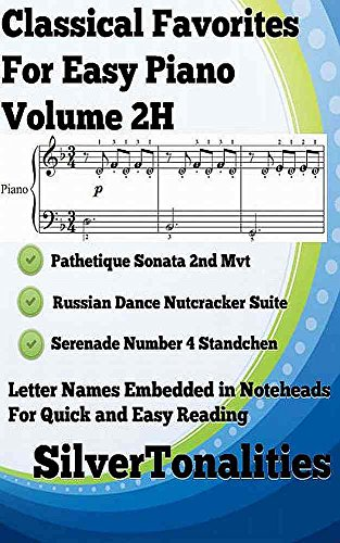 Favorite Sonatas - Classical Favorites for Easy Piano Volume 2H