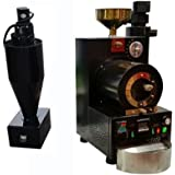 MegaLane Commercial 500g Coffee Bean Roaster Roasting Machine With Cyclone Dust Colloector