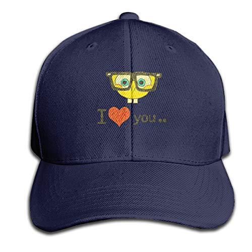 FFashionshirt Unisex Hats I Love Spongebob Classic Hat Navy -