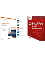 Microsoft Office 365 Home + Mcafee Total Protection 6 Devices