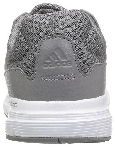 adidas Herren Galaxy 3 Wide M Laufschuh Grau / Grau / Grau