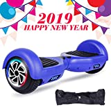 SISIGAD Hoverboard, Self Balancing Hoverboard, 6.5'' Two-Wheel Self Balancing Scooter, Smart Hover Board for Kids Gift, Adult Electric Scooter, with LED Lights and Free Carrying Bag UL2272 Certified