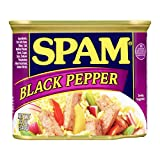 Spam Black Pepper, 12 Ounce Can
